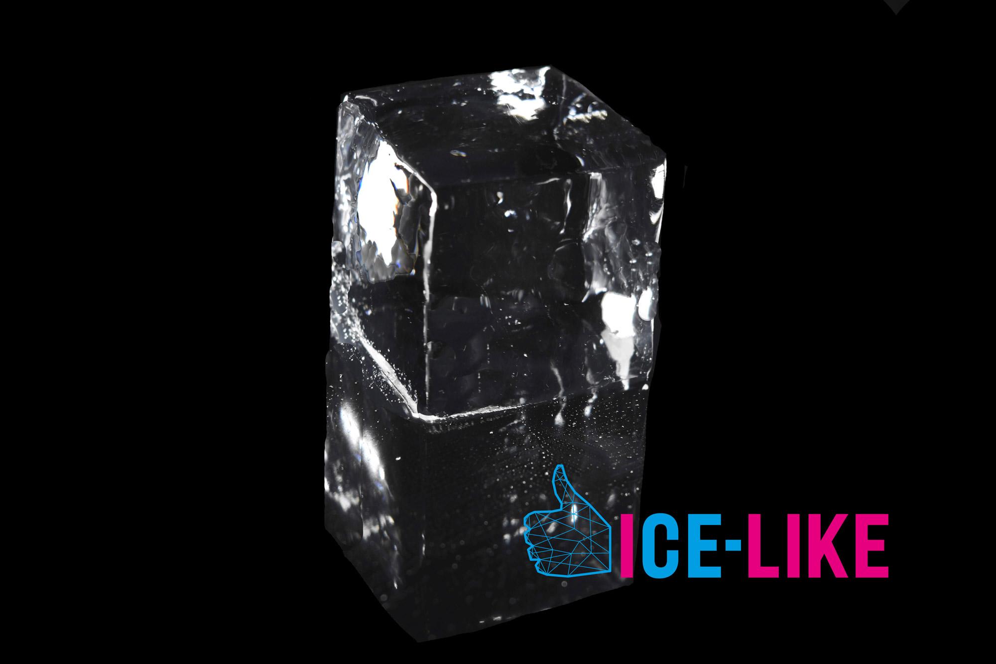IceLike Ghiaccio Alimentare - Cubi 5x5