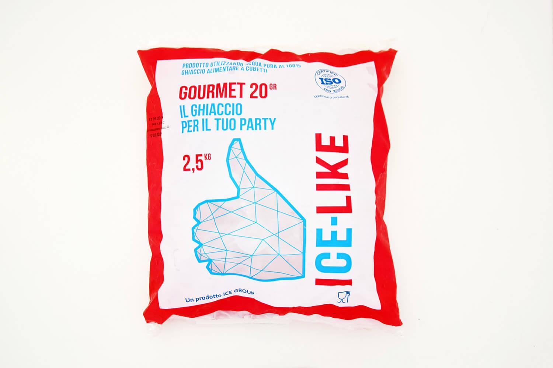 Ghiaccio alimentare IceLike Gourmet 20g-2.5kg Bag