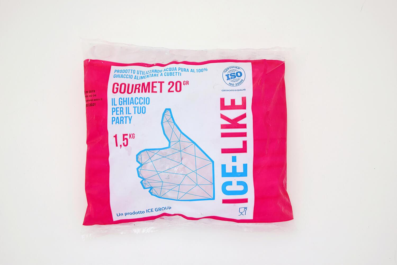 Ghiaccio alimentare IceLike Gourmet 20g-1.5kg Bag