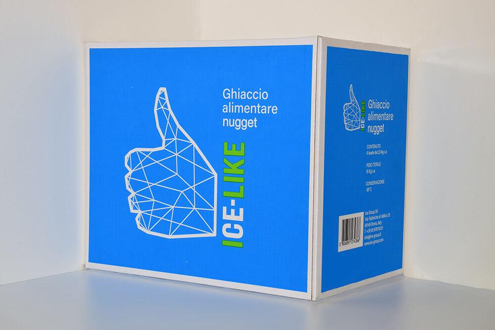 Ghiaccio alimentare Icelike - Mojito Nugget - Box