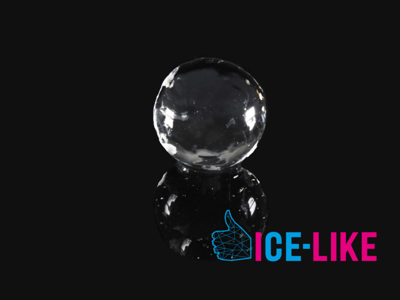 IceLike Ghiaccio Alimentare - Ice Ball 80mm