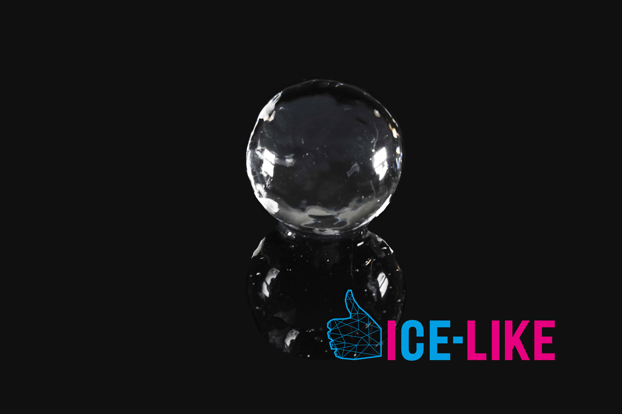 IceLike Ghiaccio Alimentare - Ice Ball 80mm