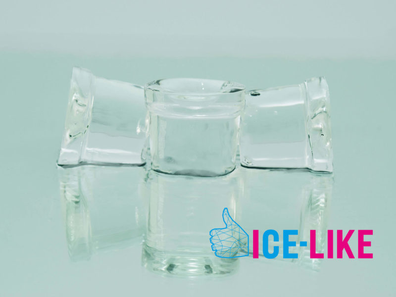 Ghiaccio alimentare IceLike - 40g-2.5kg