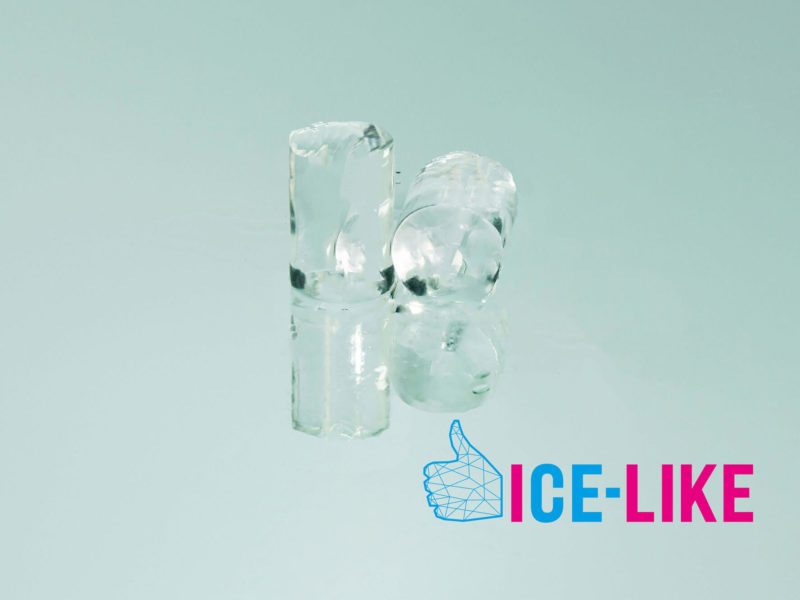 Ghiaccio alimentare IceLike - Tube