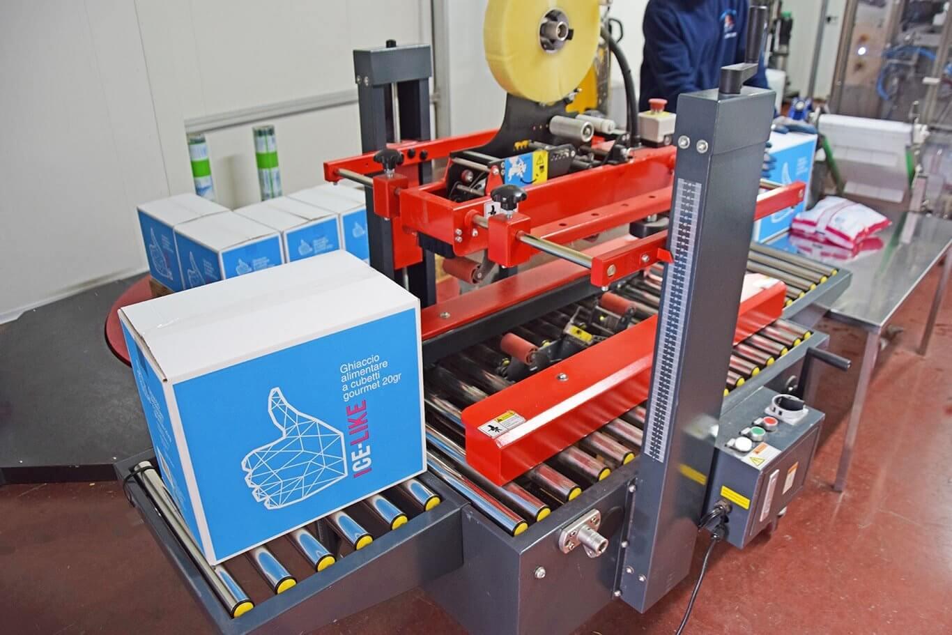 IceLike – La fabbrica del Ghiaccio Alimentare a Roma